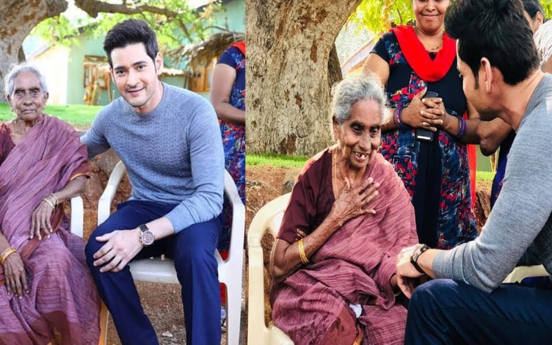 Mahesh Babu met and interacted with his 106-year old fan from Rajahmundry | Rjytimes.com